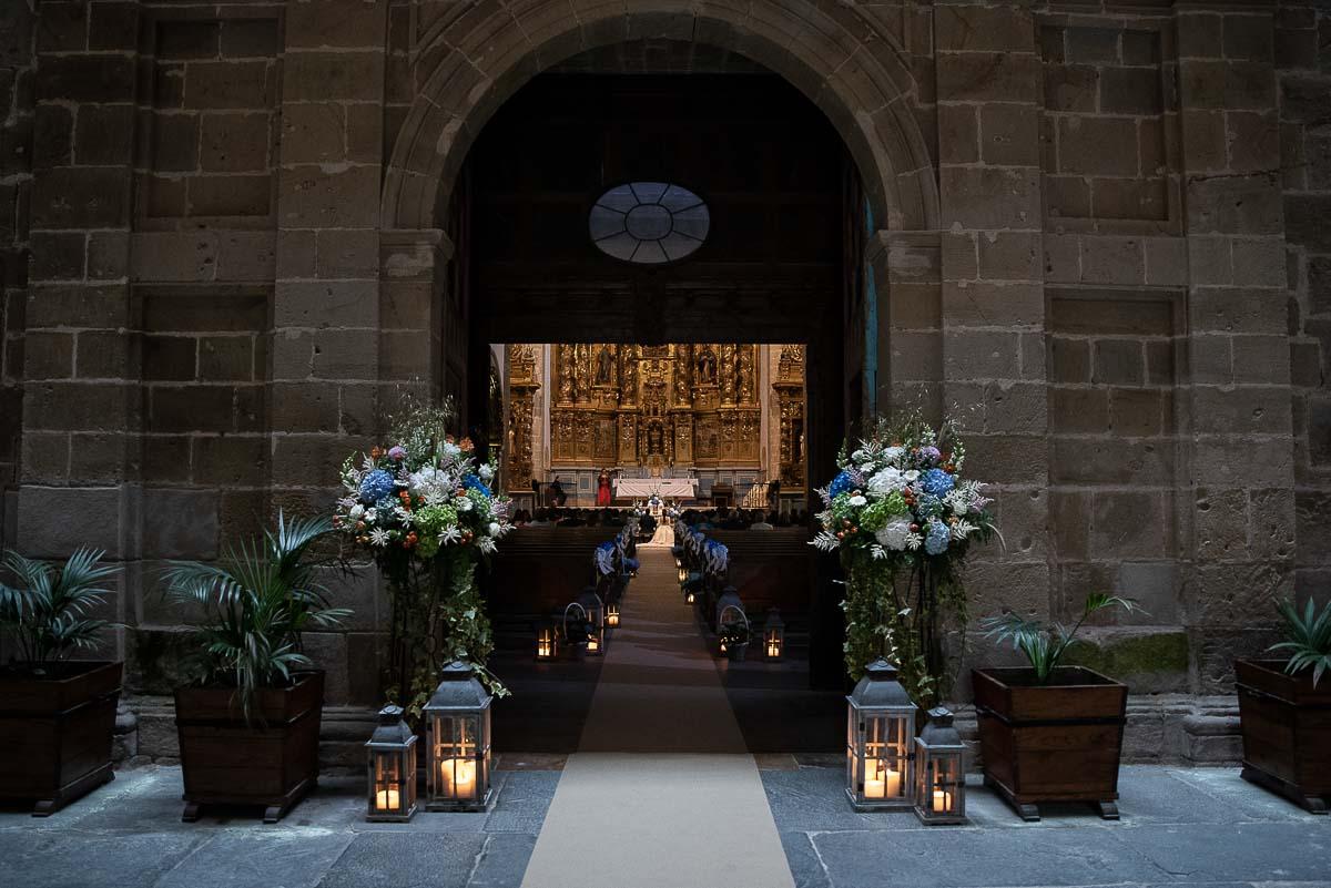 boda en el monasterio de corias